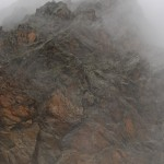 Fels und Nebel